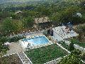 Изглед към басейна - Вила в Боровец, Варна