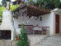 Изглед към барбекюто - Вила в Боровец, Варна
